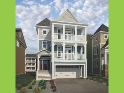 Thayer Elevation 2 New Home in Delaware