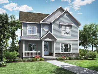 Lukner Coastal New Home in Delaware