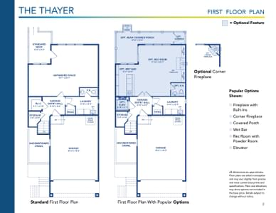 Thayer Elevation 2 Delaware Home for Sale. 2