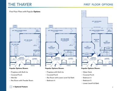 Thayer Elevation 2 Delaware Home for Sale. 3